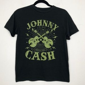Johnny Cash Band Graphic T-shirt